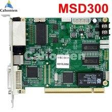Novastar/НОВА MSD300 полный Цвет синхронный LED отправки карты видео RGB LED ТВ настенный дисплей управления карты