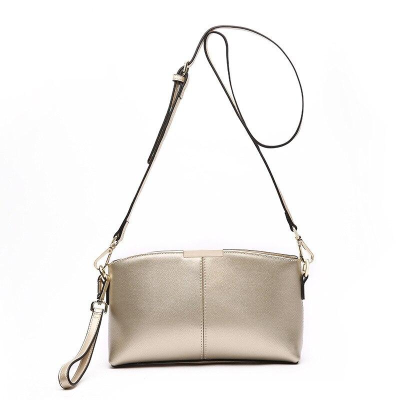 NEW Small Bag women Genuine leather Shoulder bag Crossbody bag Sac a Main Femme Ladies Long