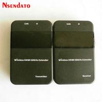 W551 20 м 65ft Беспроводной HDMI Extender HD 1080 P 3D 60 ГГц WIHD ТВ аудио видео отправитель приемник передатчик HDCP 2,0 LPCM HD 7.1CH