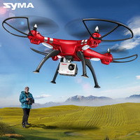 SYMA X8G X8HG X8HW Headless Mode 2.4G 6 Axis Drone with 8MP Camera 3D Roll RC Quadcopter Helicopter Transmitter BNF Version Toys