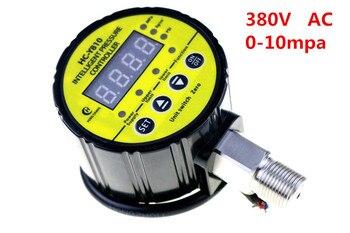 Electric contact intelligent digital display controller pressure gauge HC-Y810  0-10MPA  380VAC number