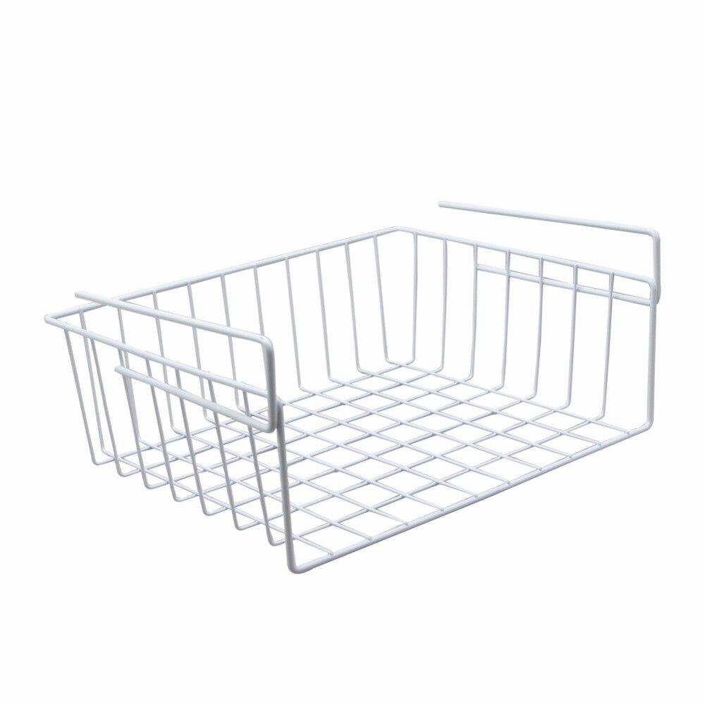 Under Shelf Basket Storage Space Saving Steel Bronze: 1 Piece Small Storage Basket Kitchen Under Shelf Storage