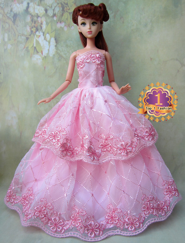 1pcs Model Choose Option Wedding Dress Princess Gown Dress Clothes