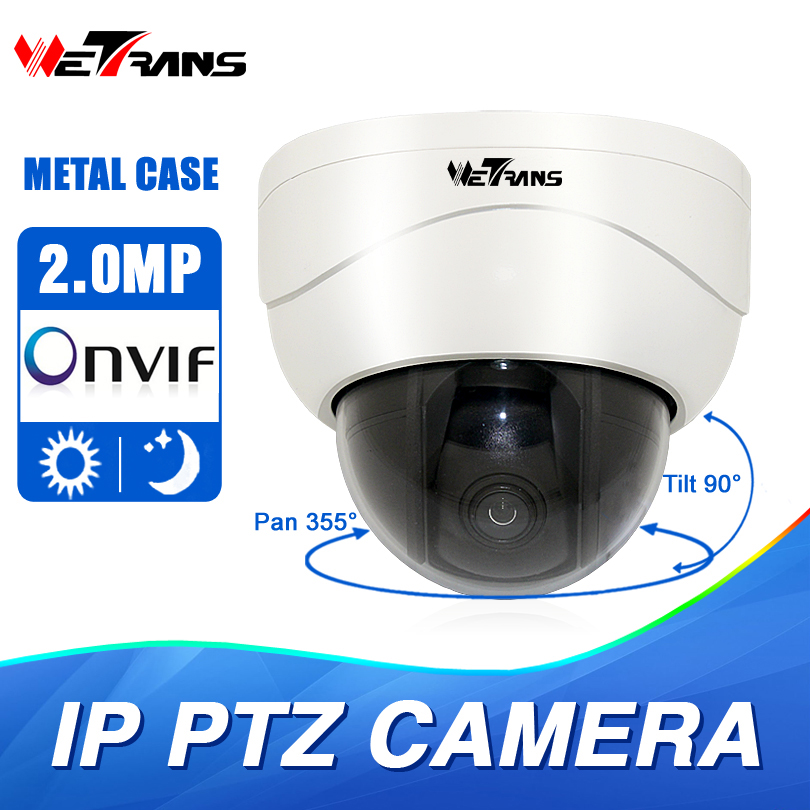 Mini IP PTZ Camera 1080P Metal Case Full HD 2.8-8mm 3X Zoom Lens 15m Infrared Night Vision Middle Speed Dome Camera PTZ IP dahua full hd 30x ptz dome camera 1080p