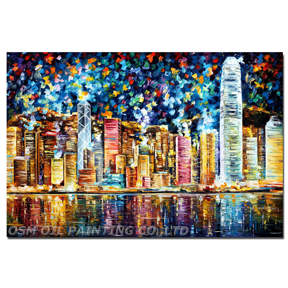 Professional Artist Hand Painted High Quality Abstract: Professional Artist Hand Painted High Quality Colorful