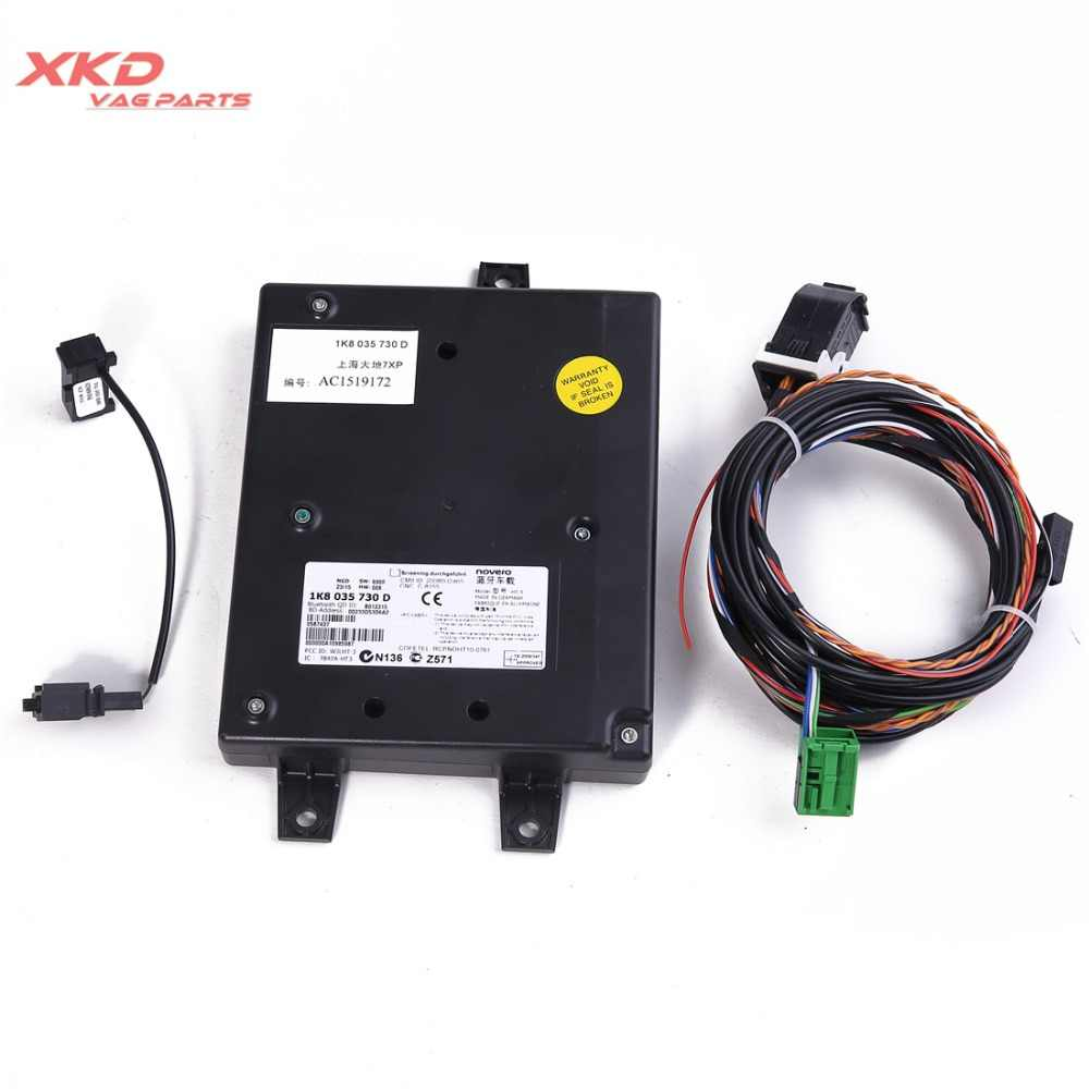 9W2 Bluetooth Interface Module Kit For V-W Je-tta Golf Passat Tiguan Tour-an CC EOS Polo RCD510 RNS510 1K8035730D