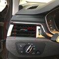 Interior de la Consola Frontal AC Aire Acondicionado Vent Outlet Recortar 7 UNIDS LHD Para Audi A4 B9 8 W 2017