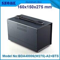 1 piece plastic outdoor enclosure cases electric box plastic case black 149x159x275 mm