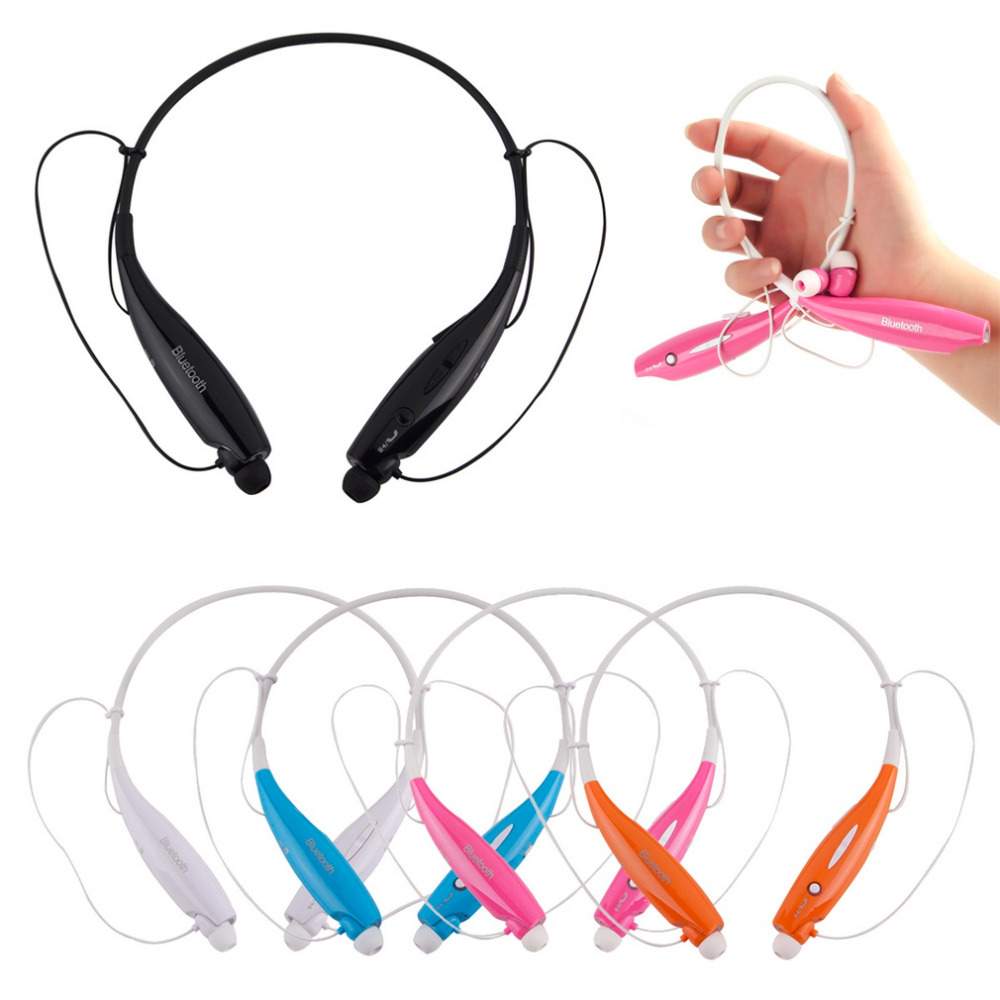 HV800 Bluetooth Wireless HandFree Sports Stereo Headset Earphone headphone For Samsung for iPhone Neckband Style Dropshipping