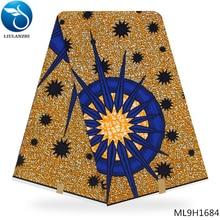 LIULANZHI african wax prints fabric 6 yards ankara 100% cotton clothes ML9H1676-1687