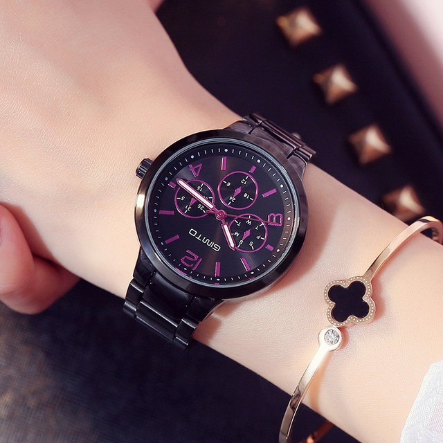 Rose Gold Women Watch