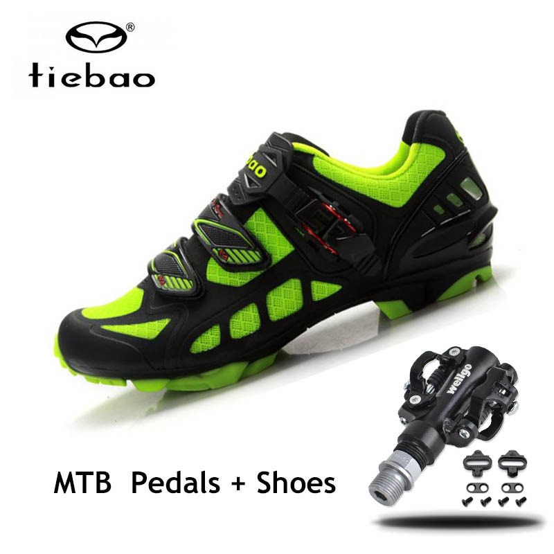 Tiebao Sapatilha Ciclismo Mtb Cycling Shoes Men women SPD bicycle Pedals Breathable Self-locking mountain bike triatlon sneakersTiebao Sapatilha Ciclismo Mtb Cycling Shoes Men women SPD bicycle Pedals Breathable Self-locking mountain bike triatlon sneakers