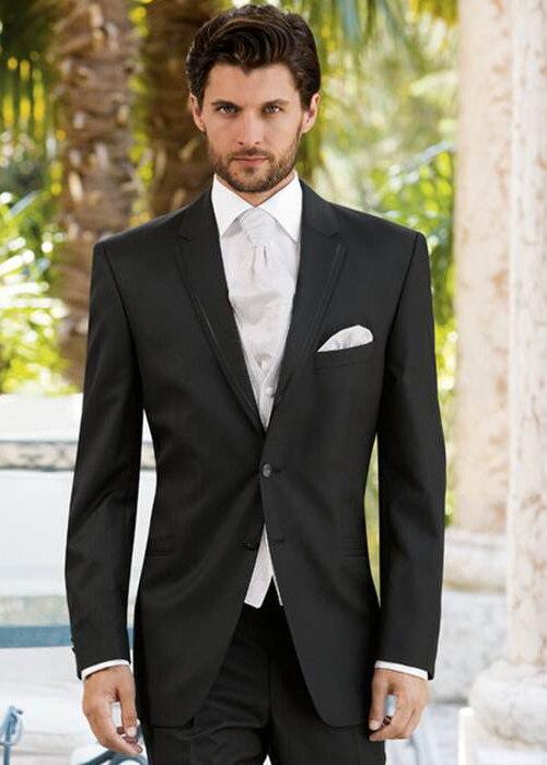 coat + pants + vest) 2018 is suitable for slim bride wedding wedding ...