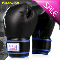 Part real leather gloves professional training kick boxing glove fighting gloves muay thai boxing gloves free shipping