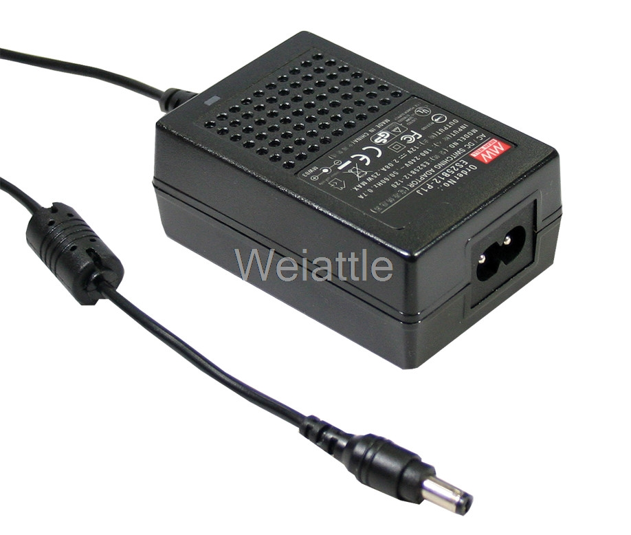 MEAN WELL original GS18B12-P1J 12V 1.5A meanwell GS18B 12V 18W AC-DC Industrial Adaptor 12 12 mean well gst60a12 p1j 12v 5a meanwell gst60a 12v 60w ac dc high reliability industrial adaptor