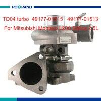 Motor turbo teil TD04 kompressor turbolader 4917701513 4917701515 MR355220 MR195396 für Mitsubishi 4D56 diesel 2.5L