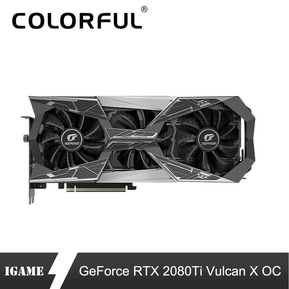 Colorful Graphic-Card Gaming Pc Gpu Nvidia 2080 Ti GDDR6 Geforce 11G Air-Cooling Vulcan-X-Oc