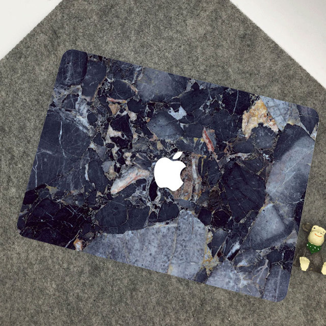 macbook pro laptop skin marble