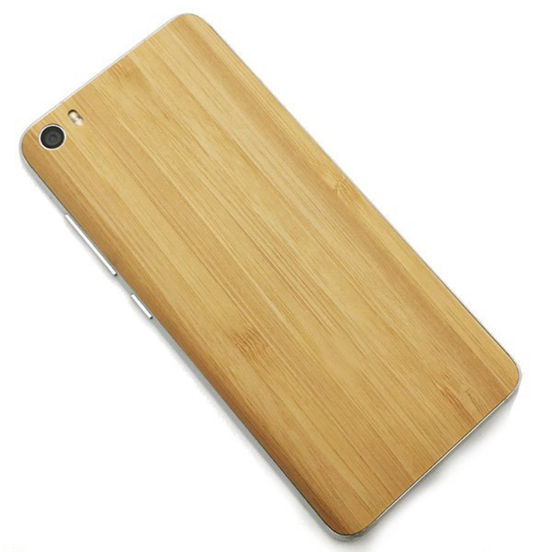 For Xiaomi Mi5 Natural Wood Bamboo + PC Pattern Back Battery Cover Case Mobile Phone Replacement Parts Cover 5.15 Inch