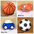 Children knob Modern Hardware prevent soft silicone cabinet drawer handle football / car style  furniture knob kid knob