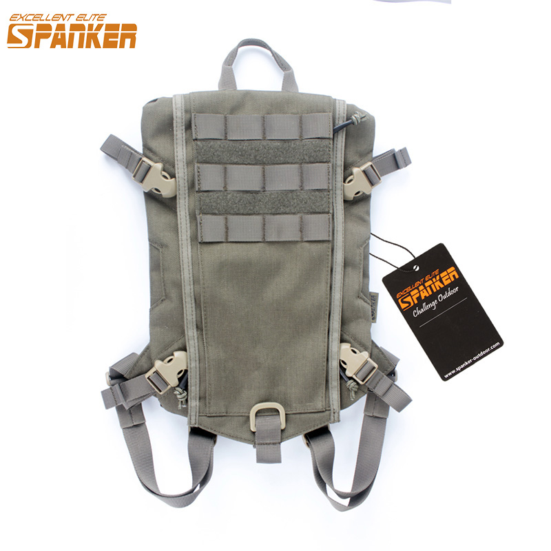 EXCELLENT ELITE SPANKER Tactical Hydration Bag Military Hunting Camping Storage Backpack Package Molle Vest Equipment Accessory maliparmi куртка