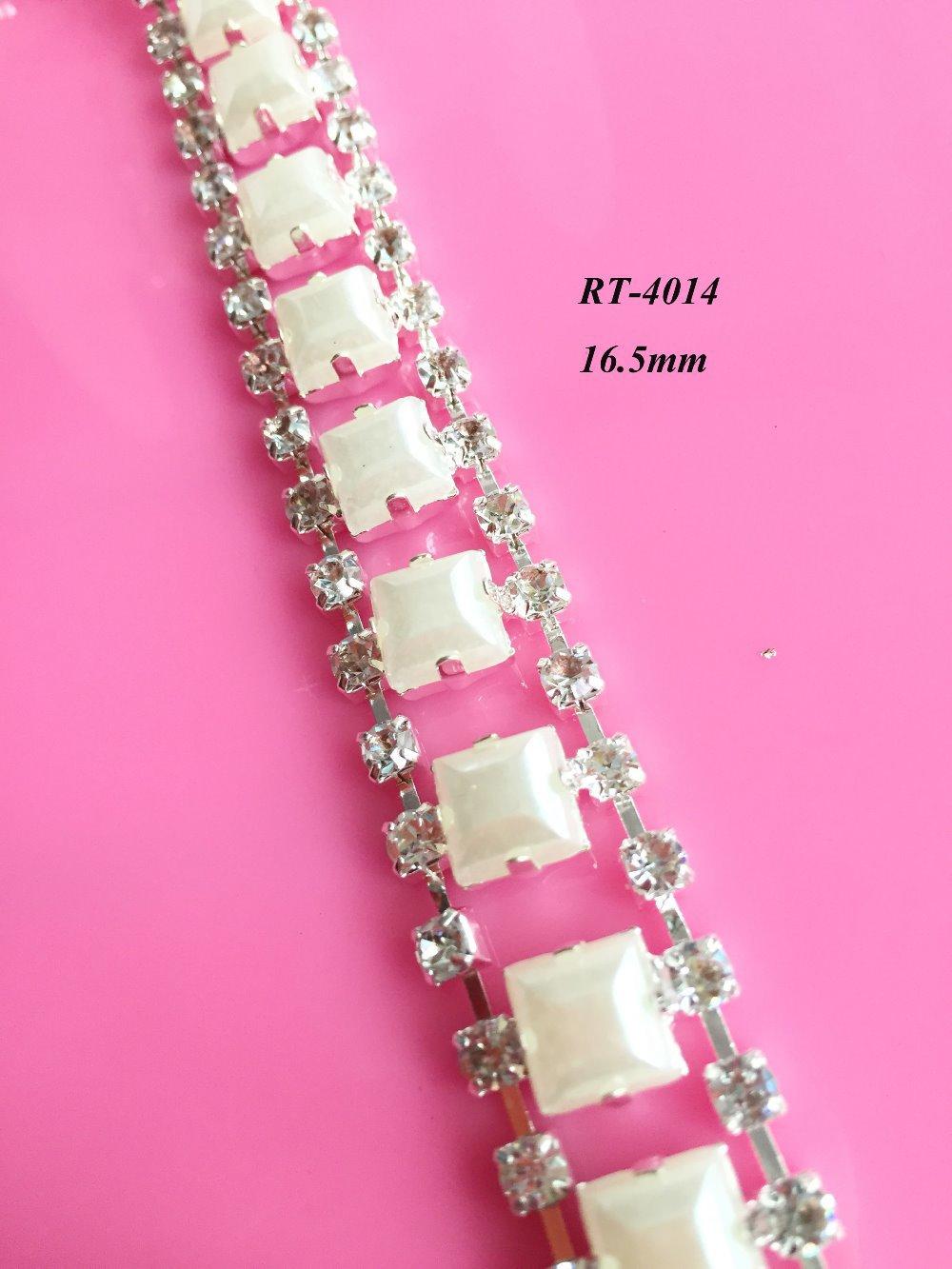 Besplatna dostava 1yard DIY kristalna obloga za mladenke dekoltea - Umjetnost, obrt i šivanje - Foto 2