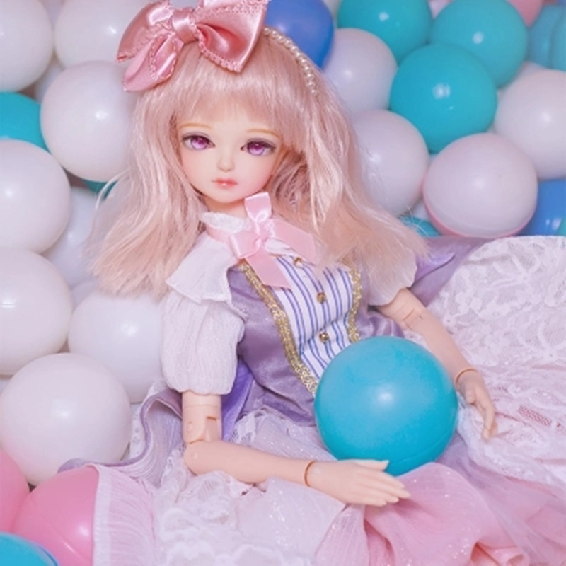 купить Fortune Days 1/4 MMGIRL BJD DOLL joint body with makeup reborn girls eye New Candy Sweet Girl Set Blyth dolls for girl gift по цене 7044.54 рублей