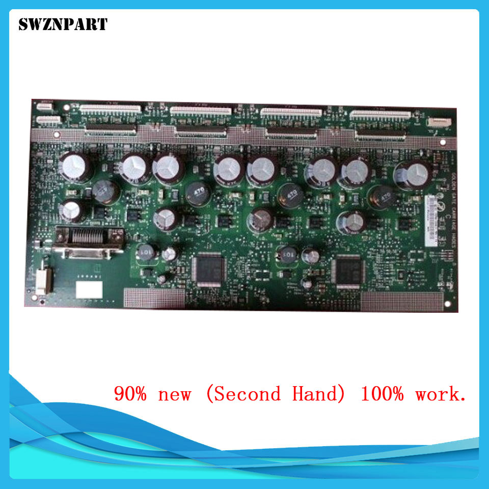 Used Carriage PCA board Q6651-60338 For HP DesignJet L25500 L26500 Z6100 Z6100PS Carriage board Plotter parts free shipping wire universal board computer board six lines 0040400256 0040400257 used disassemble