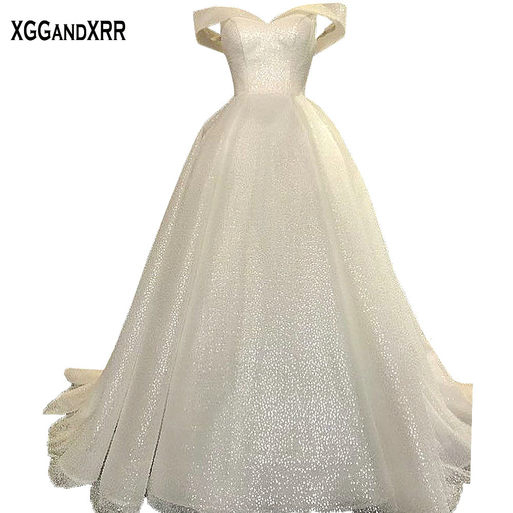 Wedding Gown Fabric Guide: Amazing Ball Gown Wedding Dress 2018 Bridal Gown Luxury