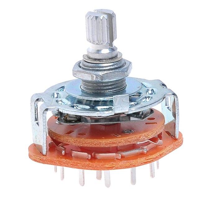 1pcs 4 way guitar amplifier rotary switch for custom wiring 4way rh aliexpress com 4-Way Rotary Switch 120V 4-Way Rotary Switch 120V