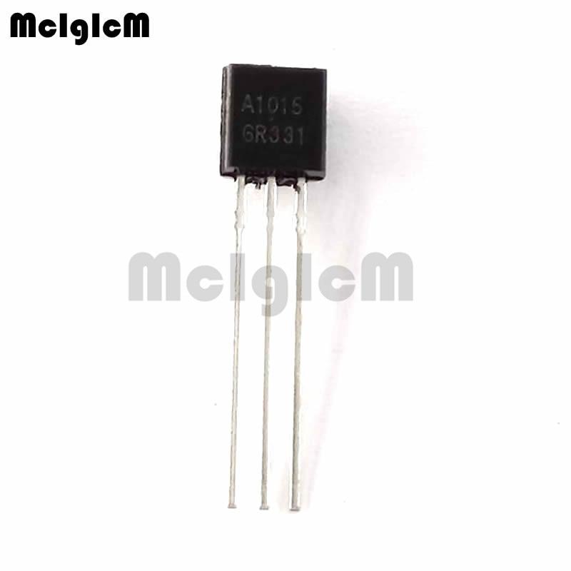 MCIGICM 5000pcs A1015 2SA1015 in line triode transistor TO 92 0 15A 50V PNP Original new