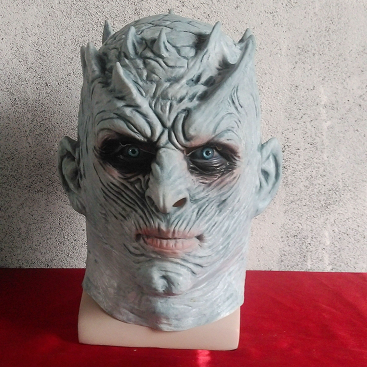 Toys For Boys Game Of Thrones Halloween Night's King Walker Face NIGHT RE Zombie Latex Adults Cosplay Throne Costume Party