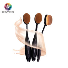 Beautyblend Brand Makeup Tools Synthetic Hair Fiber Cosmetic Brush Beauty Toothbrush Shaped Foundation Brush #J-8031
