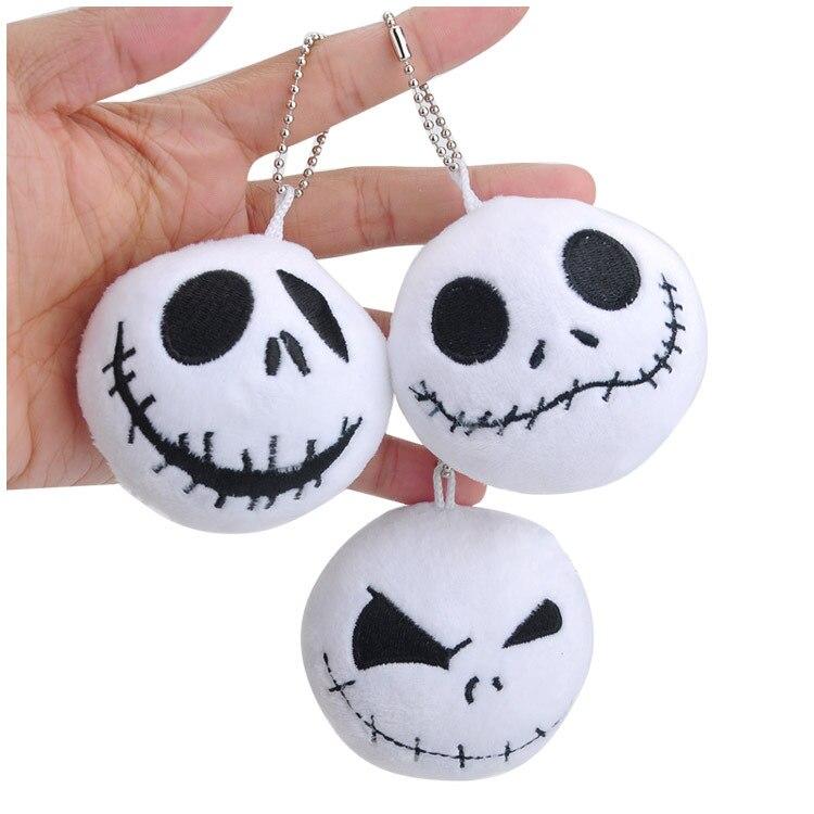 Nightmare Before Christmas Jack plush Pendant toys Skellington Kids Toys Great quality Christmas Gift HK0648