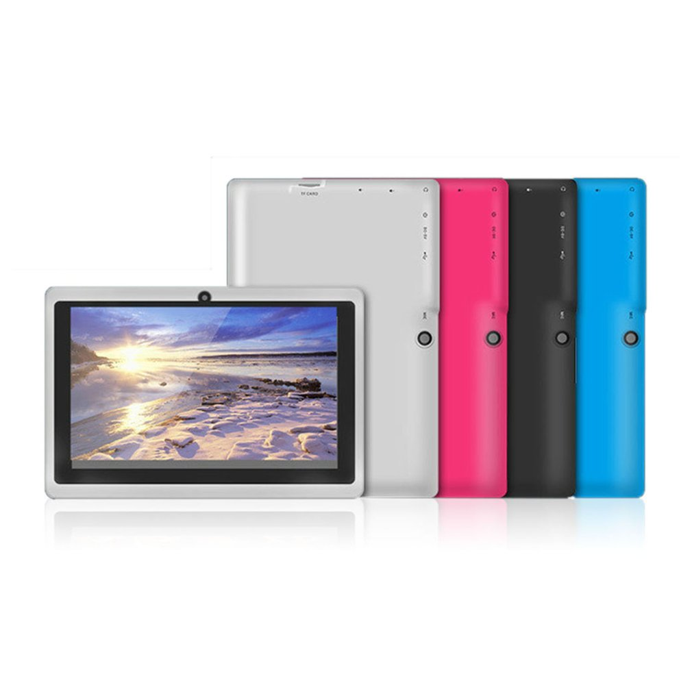 WIFI pantalla TFT de 7 pulgadas bebé máquina de aprendizaje Tablet ARM Cortex A7 512M + 8GB Android 4.4.2 Cámara Dual niños computadora portátil - 5