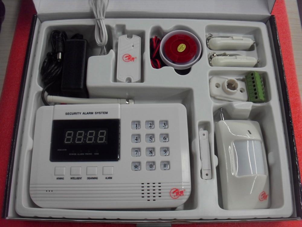 Dual Band GSM + PSTN 99 zones sans fil sans fil gsm d'alarme, gsm alarmes pour Bureau, système d'alarme antivol