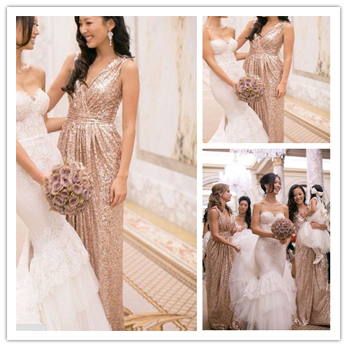 Buy sexy sparkly bridesmaid dresses 2015 for Sparkly beach wedding dresses