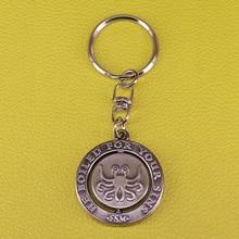 تحلق السباغيتي المفاتيح FSM الملحد حلقة رئيسية الإبداعية رامين الغذاء مجوهرات pastafary الله قلادة الدينية هدية