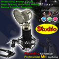 Professional Wired Mic Computer Broadcasting Studio Recording Condenser Microphone For PC Home Party Karaoke Microfone Microfono