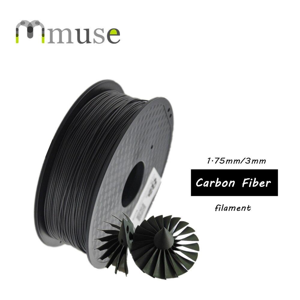 Filament fort de Fiber de carbone de Filament de stylo de l'imprimante 3D 1 kg/roll 1.75mm 3D basé sur l'abs