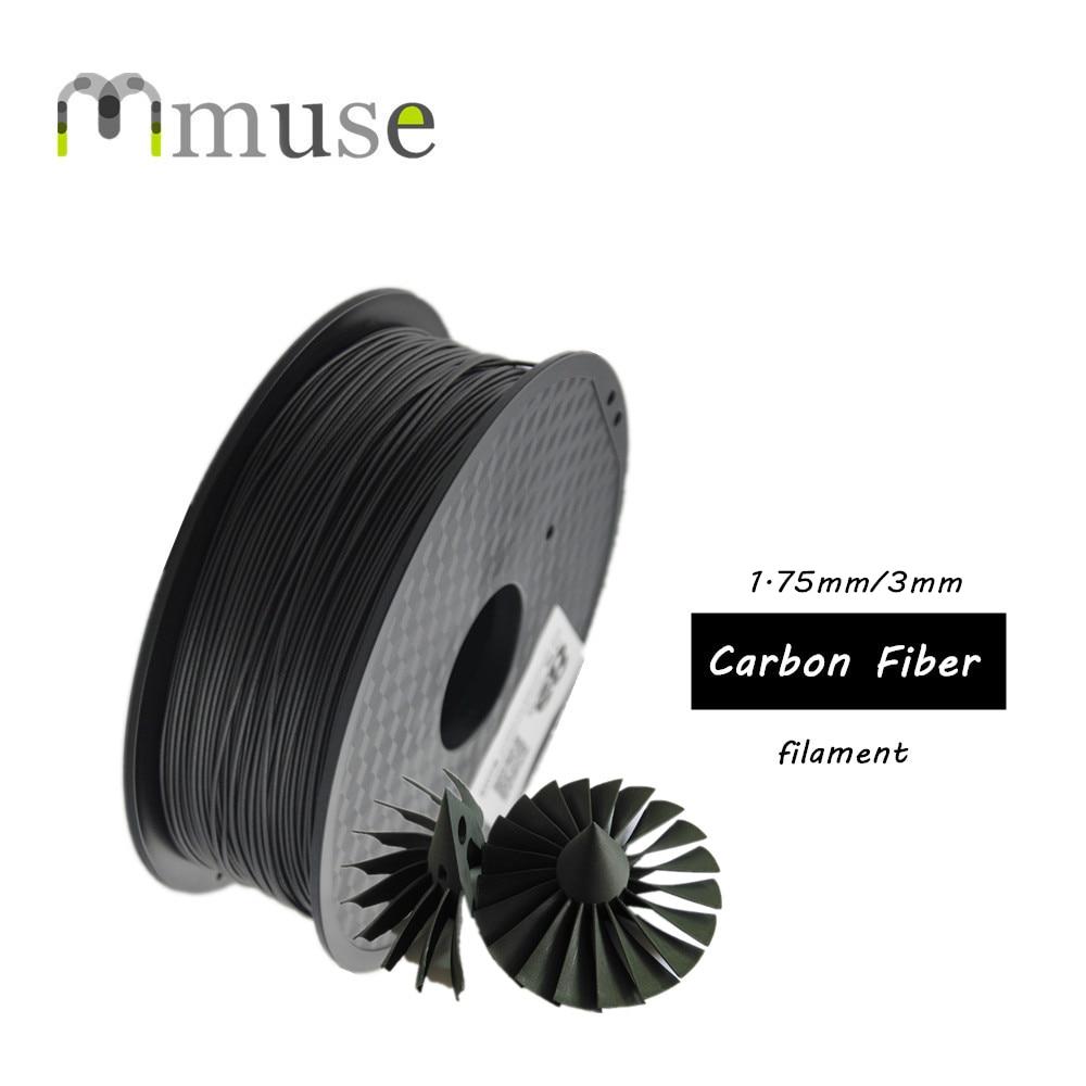 1 kg/rouleau 1.75mm 3D Imprimante 3D Pen Filament Forte Filament De Fiber De Carbone Basé Sur ABS