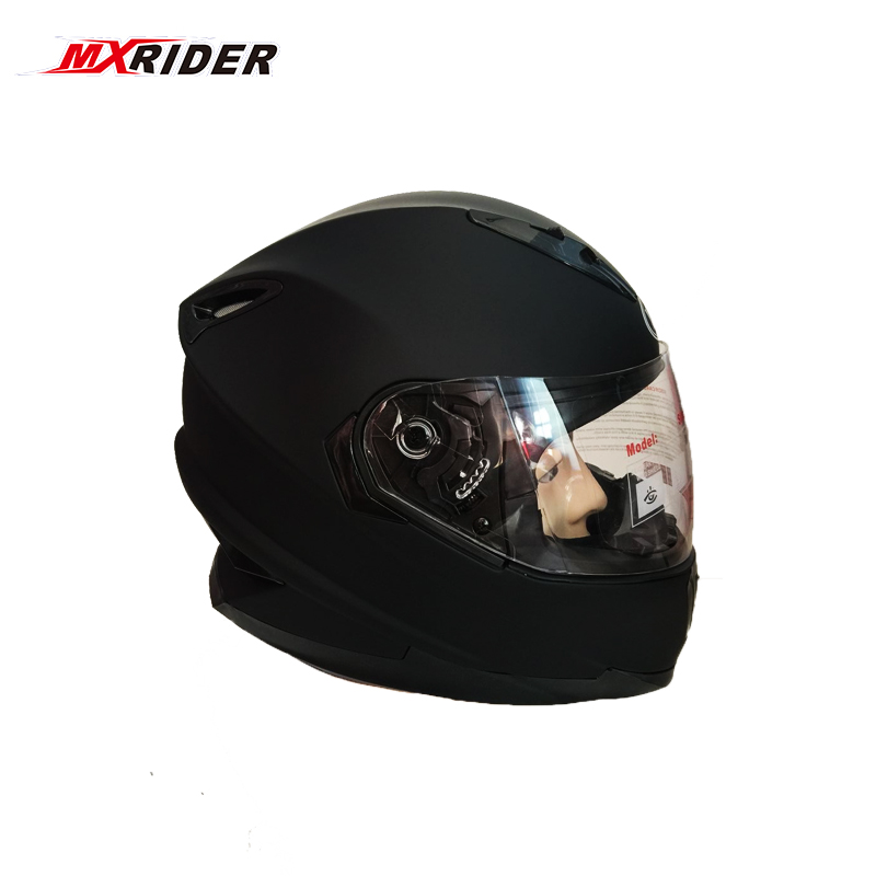 MXRIDER New Arrivals Motorcycle Helmet full face  dual lens Motorcross motorway helmet Free shipping