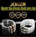 Joker Adjustable DIY Lenght Cock Rings,Super Magnetic Penis Rings, Cure Foreskin Premature Ejaculation,Sex Products For Men