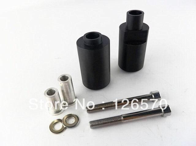 Free Shiping Black Frame Slider Fairing Protectors For 2004-2005 suzuki GSXR GSX-R 600 750