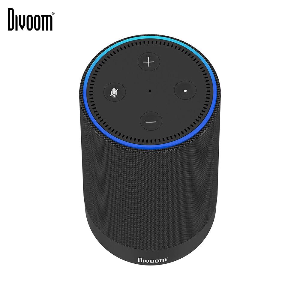 Haut parleur Bluetooth Portable Adot Divoom pour point d'écho avec boîtier de batterie Rechargeable 10000 mAh, accessoire Alexa 2nd génération-in Portable Haut-parleurs from Electronique    1
