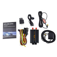 Coban Vehicle GPS Tracker GPS103A TK103A Real time Tracking Locator Listen in Google Map Link for Car Motorcycle Tracker Device