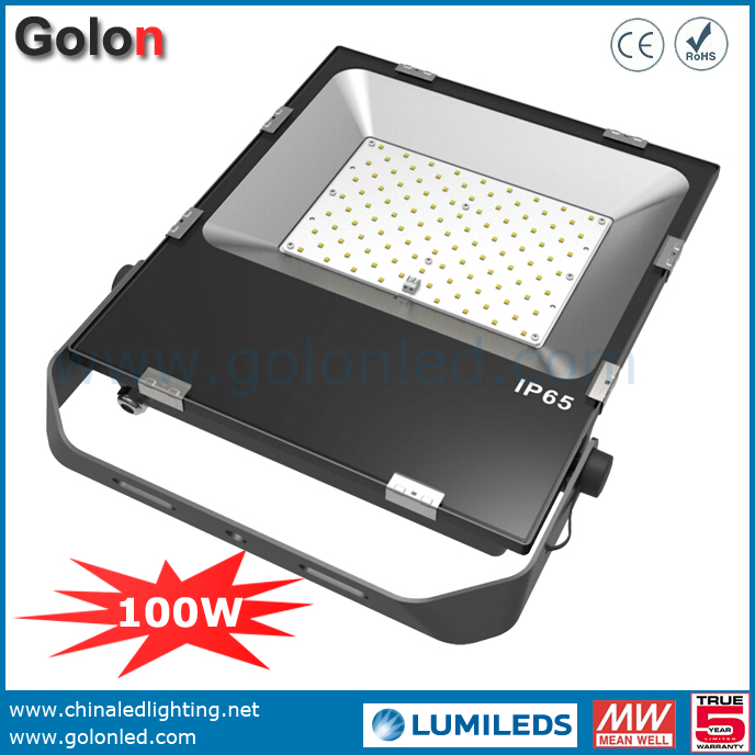 2016 New Led Wall Mounted Lights For Sport Court Warehouse Factory 100w 100 277v Ip65 Waterproof Slim Flood