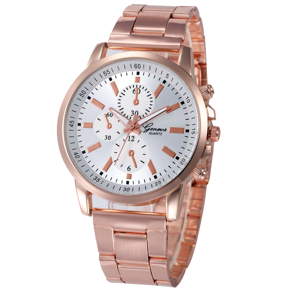 New Brand Watches Women Rose Gold Stainless Steel Band Analog Quartz Watch Classic Ladies Clock Women Watches Montre Femme #20 new women ladies stainless steel band gold watch 2017 fashion luxury analog quartz bracelet watches montre femme reloj