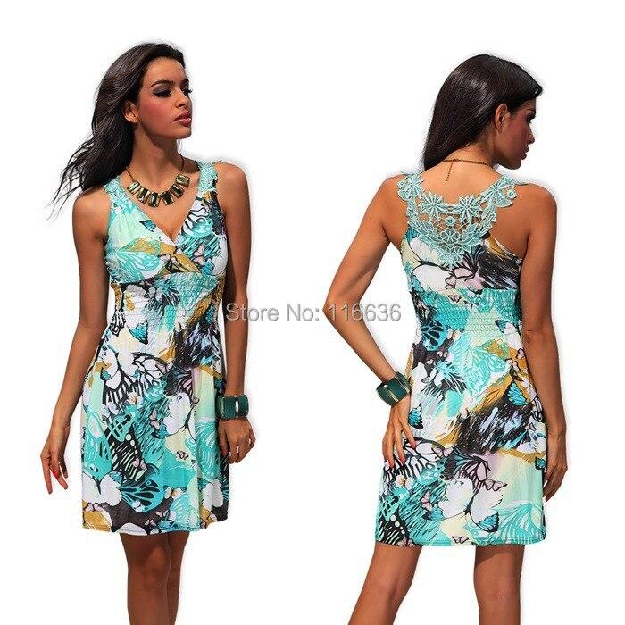Summer beach dresses plus size