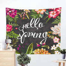 Home Fashion Tapestry Bedroom Living Room Decoration Big Beach Mat Kawaii Table Creative Household Products